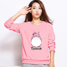 Women's Sports Suits Brand 2016 New Kawaii Harajuku Totoro Hoodies Sweatshirt Women Tracksuit For Female Jogging Femme Polerones
