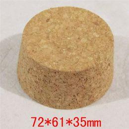 72 * 61 * 35mm Bouteilles de vin de Pudding de pot de pot à partir de grandes bouteilles liège fournisseurs