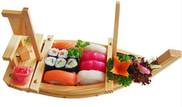 Japanese Food Seafood Plate Restaurant 40 5060 70 80 90CM Wooden Serving Tray