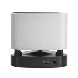 Wholesale Bluetooth Speaker Mini Light Smart Focus LED Alarm Speaker Light Intelligent LED Night Lamp Touch Panel Button
