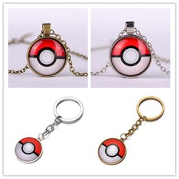 Wholesale Cartoon Souvenir Key Chains Time Gem Key Rings and Necklace Gift Anime Peripheral Decorations Fast Shipping
