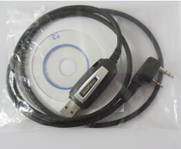 USB Programming cable with CD for Baofeng BF-888S, BF-777S BF-666S, UV-5R Data cable, interface cable. PC cable