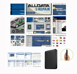 Wholesale 2016 NEW all auto repair software alldata V10 Mitchell Ondemand Heavy truck Mitchell Manager in GB Mobile New Hard Disk