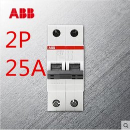 Wholesale The new ABB miniature circuit breaker switch small air breaker A P