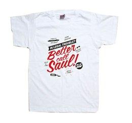 Wholesale T0117 Better Call Saul Breaking Bad Walter White Saul Goodman AMC Women Men T Shirt