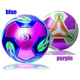 Wholesale Fashion High Quality Official Size PU Standard Soccer Ball Training Football