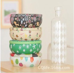 Wholesale Fashion creative exquisite metal material storage box tin can cookie jar wedding candy gift box mix color