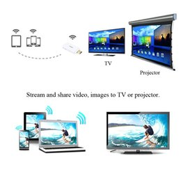 Descuento androide dlna palo de televisión TV Media Share Adaptador Airplay Pantalla Miracast DLNA HDMI TV Stick Atongm S1 Espejo WiFi para Android iOS Teléfono móvil iPad PC