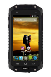 Wholesale Luowan V9 Inch IP68 Waterproof G Unlock Smartphone Android Built in GPS Navigation AGPS Compass Rugged Outdoor Phone