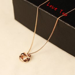 Choker Neckalce Brief Round Pendant Neckalce Gold Plated Chain Necklace & Pendant for Women Jewelry Fashion Accessories