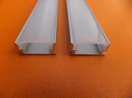 Wholesale led aluminium profile for led bar light led strip aluminum channel waterproof aluminum m pc