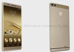 Wholesale goophone android i7 The new P9 hot selling smart phone MTK6580 G screen inch smart G phone Shape straight