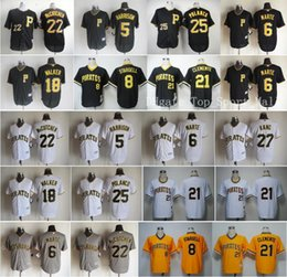 Wholesale Pittsburgh Pirates Game Andrew McCutchen Baseball Jerseys Roberto Clemente Josh Harrison Jung Ho Kang Gregory Polanco Marte