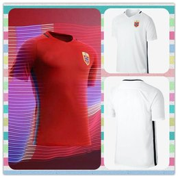Wholesale New Product Norway Thailand European cup Blank Red White Soccer Jersey Football shirt Jerseys