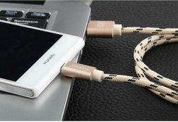Wholesale Android general aluminium alloy charging woven nylon line high speed transmission charging cable Compatible with all kinds of usb system