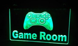 LS226-g Game Room Console Neon Light Sign