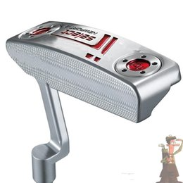 Wholesale fashion golf club Silver putter New port2 Golf Putter With Steel Shaft And Headcover pc new men putters