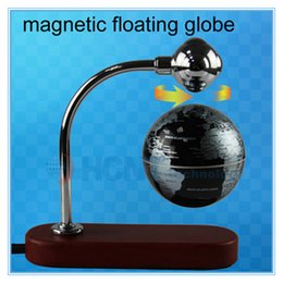 Wholesale DHL Magnetic levitation floating globe on the desk inch magnetic levitation globe display stands