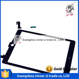 Wholesale High Quality For Ipad6 Touch Screen Digitizer Glass Replacement Black Or White With Flex For Ipad Repair Spare Parts Tested OK