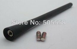 "7"" 180mm Black Universal Car Auto AM FM Radio Antenna Mast Screw On Type antenna 900mhz radio game"