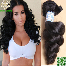Virgin Human Hair Mongolian Hair Weft Loose Wave Remy Human Hair Bundles 3Piece Lot Virgin Hair Extensions For Black Woman