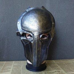 Wholesale-Full Face Movie Predator Alien Hunter Primevil Eagles Cosplay Mask Aliens vs. Predator PVC Party Halloween Props