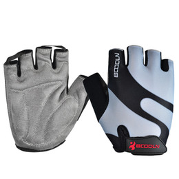 BOODUN Cycling Gloves with Shock-absorbing Foam Pad Breathable Half Finger Bicycle Riding Gloves Bike Gloves BD-001