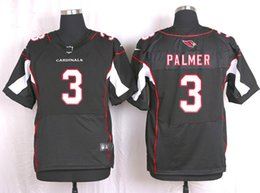Wholesale new elite american football jersey palmer men jerseys adult shirts man shirt stiched tops top red black throwback