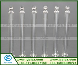 Wholesale Ball head glass dropper glass pipette Glass straws Glass buret with a ball head