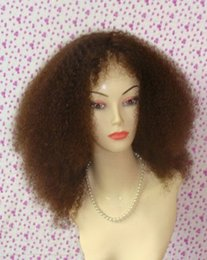 Wholesale Afo Curly Lace Front Wig fashionable lace front wig natural headline lace front wig with baby hair