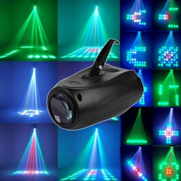 Wholesale pattern RGB LED Stage Light LED AC95 V laser light Stage performance catwalk holiday lighting KTV DJ Disco AU US UK EU