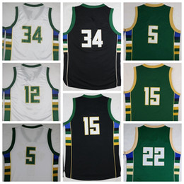 Wholesale Sport Basketball Jerseys Men Shirt Basket ball Uniforms With Player Name Team Logo Black Green White Best Quality