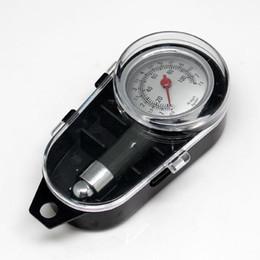 Wholesale High precision tire pressure gauge measurement of tire pressure monitoring instrument can be air metal car tire pressure gauge car use