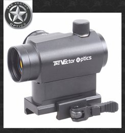 Wholesale TAC Vector Optics Maveric Micro x22 Tactical Compact Red Dot Sight Scope with Quick Release QR Mount For Rifles Handguns Airsoft