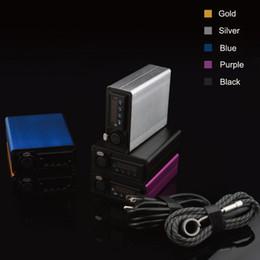 Métal cas ecig à vendre-Y-Hot vente coloré Heater kit ongles Coil avec étui Aluminium Control Temp E Cigarette sec boîte de cire de vaporisateur à base de plantes kit de démarrage ecig mod