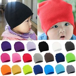 Wholesale Fashion Baby Boy Girl Infant Soft Cotton Cute Knitted Warmer Hats Beanies Autumn Winter Warm Cap FX270