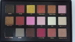 Wholesale 1 high copy Beauty eyeshadow palette colors Shimmer Matte Eyeshadow Makeup Cosmetics eyeshadow box