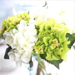 Simulation Short branch hydrangea plants arrange wedding artificial flowers Valentine's Day flowers home decor desk flower K16184