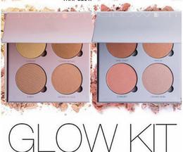 Wholesale 2016 Glow Kit That Glow and Gleam Powder ABH Contour Kit Bronzer Highlighter Powder Face Makeup Kit Cosmetic Free DHL