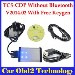 Wholesale 2015 R3 Or R2 Gray Interface Auto TCS CDP Pro Plus With LED IN1 TCS CDP Plus Without Bluetooth Carton Box