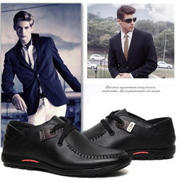 Wholesale Mode Hommes Chaussures Refroidir Flats Chaussures d hiver en cuir chaud Chaussures Hommes Low Mens casual chaussures Oxford pour hommes