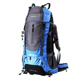 2015 New 45L Large Capacity Professional Mountaineering Bags Camouflage Hiking Backpack Unisex Outdoor Rucksacks Backpack PCB002