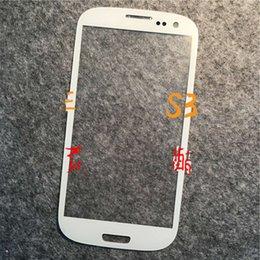 Promotion plaque d'écran Téléphone cellulaire Extérieur écran de verre couvercle pour Samsung S3 / i9300