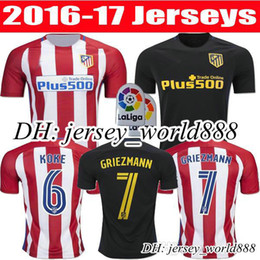 Wholesale Atletico Madrid Jersey ARDA home away GRIEZMANN F TORRES JACKSON M thai quality Atletico Madrid football shirt soccer jersey