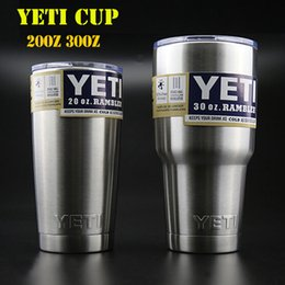 Yeti cups stainless steel tumbler YETI double walled cup travel mugs Car Vehicle Beer Mugs Vacuum Insulated Refly 10oz 12oz 20oz 30oz