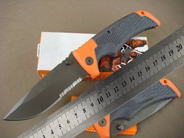 Wholesale Top quality GB Scout folding Blade Knife Outdoor Camping Utility Hiking rescue survival knife knives with original box packing