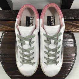 Wholesale Italy Brand Golden Goose Superstar Casual Shoes Antique Finish Men Women Fashion Sneaker GGDB Shoes ORIGINAL Invisible Increasing