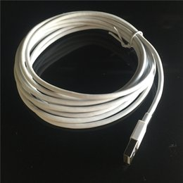 Wholesale 10PCS m m Micro usb Cable data charger code line for iphone s lpus ipad white round data cable
