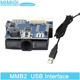 Wholesale Original CCD D Barcode Scanner Module USB Interface Bar code Reading Scan Engine Solution MMB2