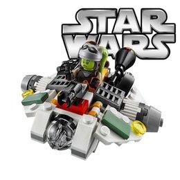 Wholesale hot toys plane potere della forza risveglia fantasma microfighter hera syndulla blocchi di costruzione del modello dei bambini migliori gio